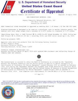 美国海岸警卫队USCG产品认证